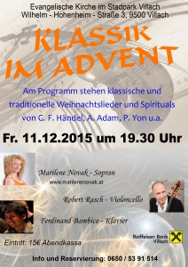 Klassik im Advent 2015
